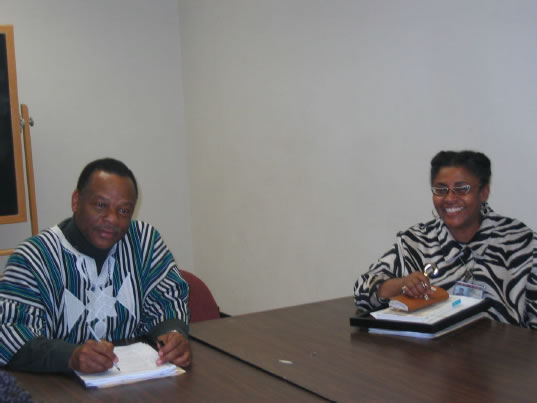 Molfi Kete Asante, Founder of Afrocentric Theory, Graduate Seminar, Temple University, 2006